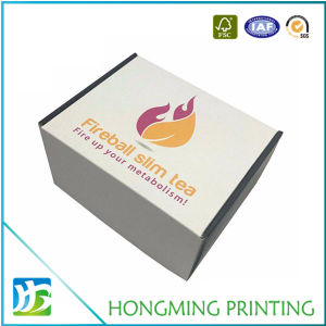Custom Logo Cardboard Empty Tea Boxes pictures & photos