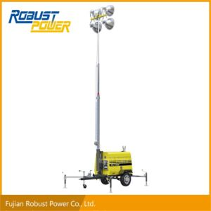 Halogen Spot High Bay Flood Diesel Movable Lighting Tower pictures & photos
