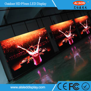 Waterproof Outdoor P5 LED Commercial Advertising Display Screen pictures & photos
