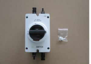 PV DC 1000V 25A/32A/35A/50A/63A 4 Pole Solar Electric Isolation Switch /Isolator Switch pictures & photos