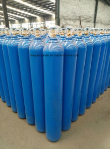 Seamless Steel DOT-3AA 43.3L 2265psi Oxygen Gas Cylinders  pictures & photos