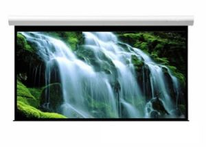 100 Inch Wall Mount Office Projector Matte White Electric Projection Screen pictures & photos