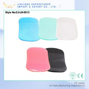 sticky PU non slip mat, fashion jelly color car pad pictures & photos