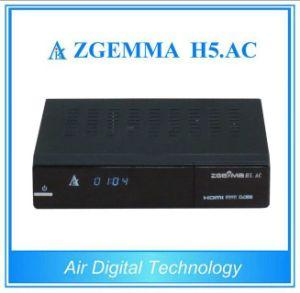 Multi-Media Player Box DVB-S2+ATSC Twin Tuners Zgemma H5. AC Linux OS Enigma2 Satellite Receiver pictures & photos