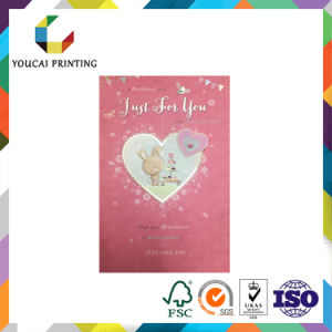 Customize Paper Gift Wedding Birthday Chirstmas Greeting Card pictures & photos
