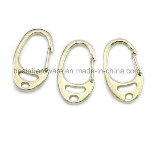 Metal Keychain Accessories Spring Hook pictures & photos