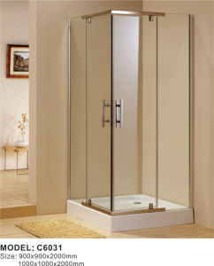 6mm or 8mm Simple Complete Shower Room