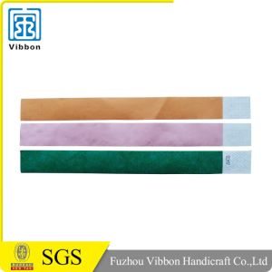 Widely Use Custom Design Medical Tyvek Wristbands