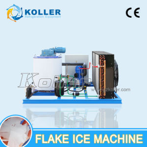 1000kg Hot Sale Dry and Clean Flake Ice Machine for Fishing Boat (KP10) pictures & photos