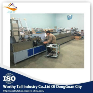 High Speed Cotton Swab Machine of Making Drying Packing pictures & photos