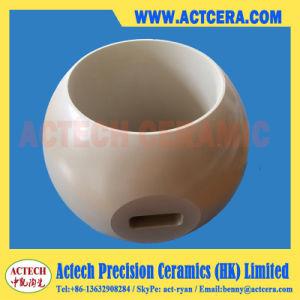 High Wear Resistant Ce-Tzp/Cerium Stabilized Zirconia Ceramic Ball Valve pictures & photos