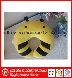 Cute Soft Neck Pillow with Plush Teddy Bear pictures & photos