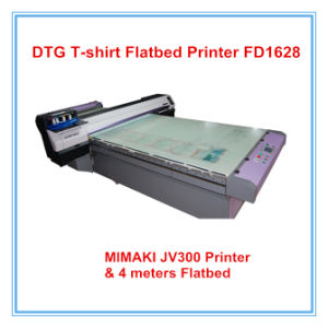 Fd1628 Direct Printing to Garment T-Shirt Flatbed Printer pictures & photos
