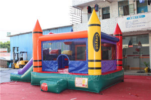 Crayon Inflatable Bouncy Castle Slide Combo Chb573 pictures & photos