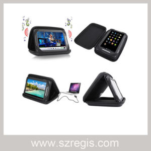 Tablet Speaker Case PU+EVA Cover Bag Speaker Phone Cover pictures & photos