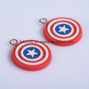 Custom Lovely Soft PVC Rubber Zipper Puller for Bags pictures & photos
