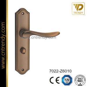 New Design Hardware Door Handle Zinc Plate Lock Handle (7022-Z6101) pictures & photos