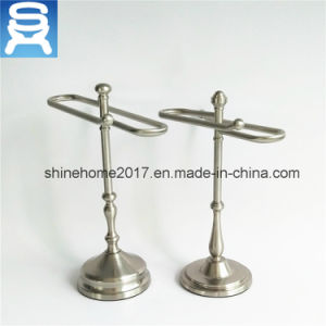 New Sanitary Ware Satin Nickel Plated Hardware Bathroom Towel Ring pictures & photos
