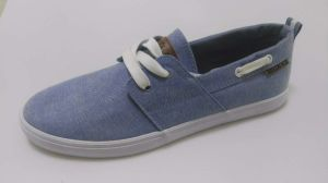 Canvas Casual Shoe Flat Rubber pictures & photos