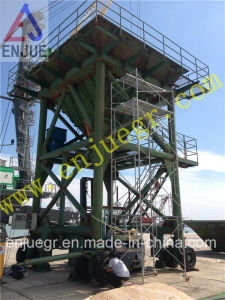 Rail Type Movable Dust-Proof Hopper with Tire for Discharging Clinker Dedusting Hopper pictures & photos
