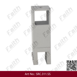 Die Casting Stainless Steel Toilet Partition Brackets to Glass pictures & photos