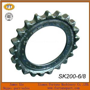 Kobelco Sk200 Heavy Excavator Undercariage Spare Parts Sprocket Rim pictures & photos