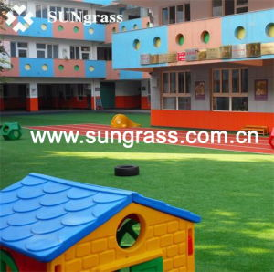 Synthetic Turf for Landscape or School (QDS-4S-20) pictures & photos