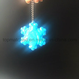 PVC Snowflake Reflector Reflective Pendant for Promotion pictures & photos