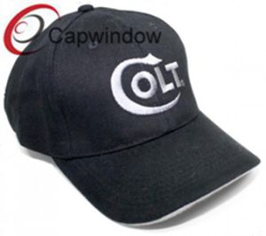 Black 3D Embroidered Simple Fashion Leisure Sport Baseball Cap pictures & photos