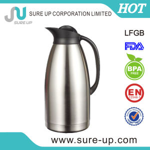 Double Wall Insulate Stainless Steel Coffee Pot Vacuum Water Jug (JSBK) pictures & photos
