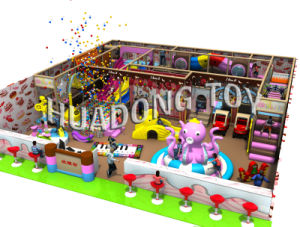 2015 Indoor Cute Animals Combined Playground HD15b-064A pictures & photos