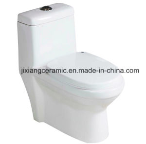 Ceramic Wc One-Piece Toilet with Saso/Ce pictures & photos