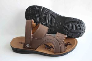 Classic Style Genuine Leater of Men Beach Sandal (SNB-14-006) pictures & photos
