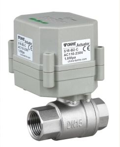 Timer Controlled Electric Automatic Drainage Ball Valve with AC/DC110V-230V (S15-S2-C) pictures & photos