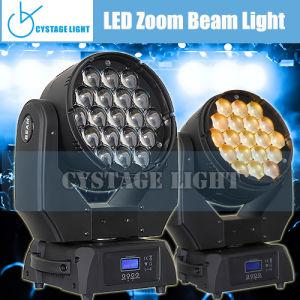 RGBW 19X12.8W LED Zoom Moving Head