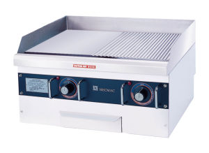 24 in Commercial Heavy Electric Half Grooved and Half Flat Griddle (FEHCC228) pictures & photos