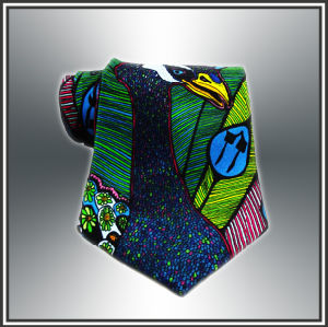 Custom High Quality Digital Print Silk Tie (X1092) pictures & photos