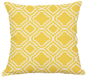 High Quality Simple Digital Printing Cushion Polyester Fabric Cushion Cover pictures & photos