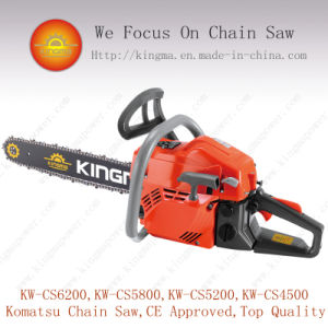 62cc Gas Chain Saw with Big Power and High Quality pictures & photos