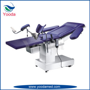 Electric and Hydraulic Medical Surgical Table for Gynecology pictures & photos