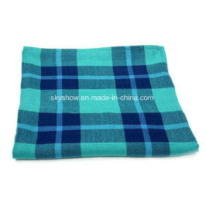 Modacrylic Plaid Airline Blanket (SSB0177) pictures & photos