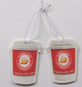 Car Giveaways Items Paper Air Freshener pictures & photos
