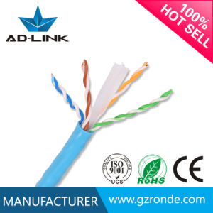 28AWG PVC CCA Bare Copper UTP CAT6 Cable