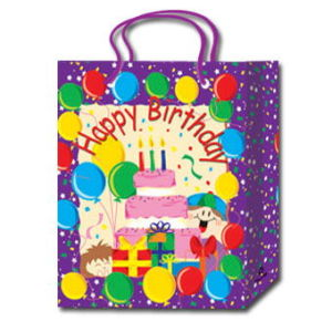 Hot Selling PP Brith+Christmas Series Gift Bags