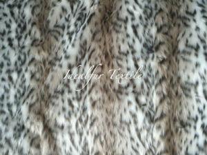 Jacquard Faux Fur /Knitted Plush Fur /Leopard Fur pictures & photos