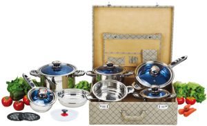 High Quality 16PCS Stainless Steel Cookware Set (CS116003) pictures & photos