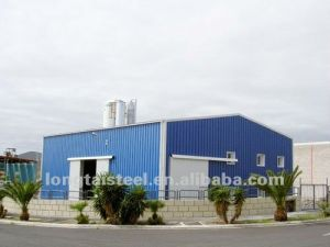 China Prefab Steel Frame Construction Building Warehouse pictures & photos