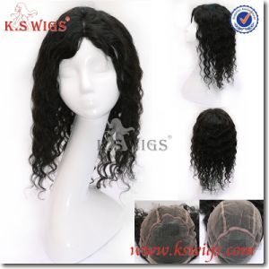 5A 100% Virgin Hair Malaysian Human Hair Full Lace Wig pictures & photos