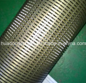 1.0mm Slot Stainless Steel 304/316 Johnson Wire Wrapped Well Screen Pipe with Thread Coupling pictures & photos