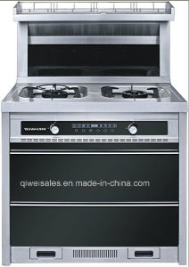 Integrated Cooker with Double Gas Stove (JJC-90F16) pictures & photos